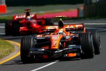 Christijan Albers (NED) Etihad Aldar Spyker Formula One Team F8-V11, Australian F1 Grand Prix, Albert Park, Melbourne, 16-18/3/ 2007,