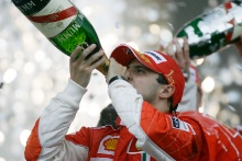 Felipe Massa (BRA) Ferrari F2008 Wins, Brazilian F1 Grand Prix, Interlagos, 30th October 2008-2nd, November, 2008