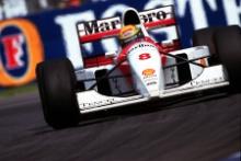 1993 Formula One World Championship. Ayrton Senna (BR), Marlboro McLaren MP4/8. Australian Grand Prix, Melbourne, 7th November 1993.