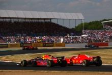 Max Verstappen, Red Bull-Renault and Kimi Raikkonen, Ferrari