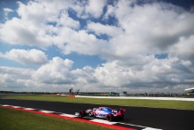 A blue sky at Silverstone