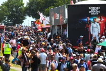 Crowds and Fans at Silverstone