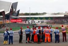 Marshals at Silverstone