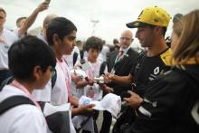 Daniel Ricciardo (AUS) Renault F1 Team