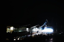 The Wing at night