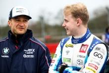 Colin Turkington (GBR) WSR BMW and Ash Sutton (GBR) Team BMR Subaru Levorg