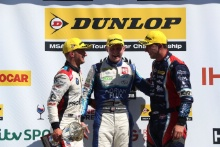 Colin Turkington (GBR) WSR BMW, Ash Sutton (GBR) Team BMR Subaru Levorg and Tom Ingram (GBR) Speedworks Motorsport Toyota Avensis