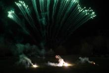 BTCC Fireworks