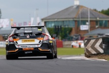 Matt Neal (GBR) Team Dynamics Honda Civic