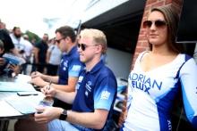 Ash Sutton (GBR) Team BMR Subaru Levorg Grid Girl