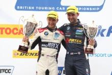 Colin Turkington (GBR) WSR BMW and Andrew Jordan (GBR) WSR BMW