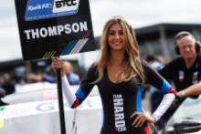 Bobby Thompson (GBR) Team Hard Volkswagen CC  grid girl