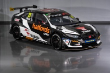Halfords Yuasa Racing Honda Civic Type R launch