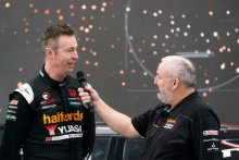Dan Cammish (GBR) and Matt Neal (GBR) Halfords Yuasa Racing Honda Civic Type R launch
