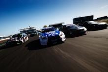 Glynn Geddie (GBR) - Team HARD Cupra Leon, Aiden Moffat (GBR) - Laser Tools Racing Infiniti Q50, Michael Crees (GBR) - BTC Racing Honda Civic Type R