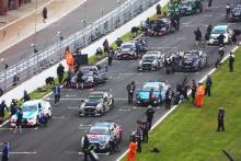 BTCC race 1 grid