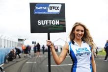 Ashley Sutton (GBR) - Laser Tools Racing Infiniti Q50 Grid Girls