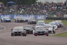 Start, Josh Cook (GBR) - BTC Racing Honda Civic Type R