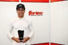 Maldonado Pole position award