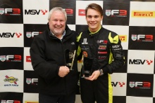 John Cavill and Linus Lundqvist (SWE) Double R BRDC British F3