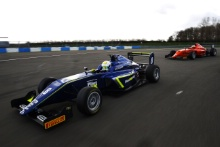 Kaylen Frederick (USA) Carlin BRDC F3 British F3 Tracking