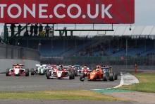 Start, Benjamin Pedersen (USA) Douglas Motorsport BRDC F3  leads