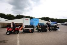 British F3 paddock