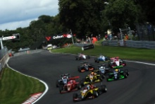 Race 3 Start - BRDC F3