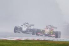 Nicolas Varrone (ARG) - Chris Dittmann Racing BRDC F3 Reece Ushijima (USA) - Hitech GP BRDC F3