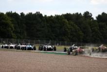 Start of the race Zak O'Sullivan (GBR) - Carlin BRDC F3 leads