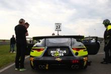 Ben Norfolk / Jason Wolfe Invictus Games Racing Jaguar F-TYPE SVR GT4