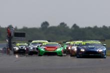 Start of Race 1, Mark Farmer / Nicki Thiim TF Sport Aston Martin V12 Vantage GT3 leads
