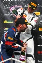 Darren Turner Beechdean AMR Aston Martin V12 Vantage GT3 and Marco Sorensen TF Sport Aston Martin V12 Vantage GT3