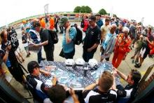 Stephen Johansen / Jesse Anttila UltraTek Racing Team RJN Nissan 370Z GT4 and Kelvin Fletcher / Martin Plowman UltraTek Racing Team RJN Nissan 370Z GT4