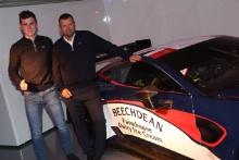 Ross Gunn and Andrew Howard 2019 Beechdean Aston Martin Launch