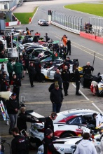 British GT pitlane
