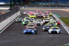 Race start Graham Davidson / Jonny Adam TF Sport Aston Martin V8 Vantage GT3 leads