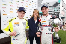 Josh Price TF Sport Aston Martin V8 Vantage GT4 and Seb Morris JRM Racing Bentley Continental GT3