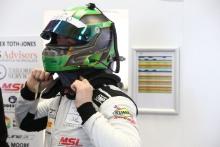 Alex Toth-Jones Academy Motorsport Aston Martin V8 Vantage GT4