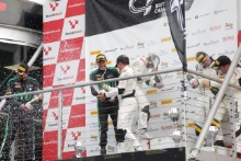GT4 Pro Am podium