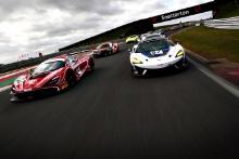 Shaun Balfe / Rob Bell - Balfe Motorsport McLaren 720S GT3, Chris Wesemael / Gus Bowers - HHC Motorsport McLaren 570S GT4