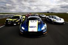 Alain Valente / Michael Benyahia -  Tolman Motorsport McLaren 570S GT4, Ahmad Al Harthy / Jonny Adam - TF Sport Aston Martin Vantage AMR GT3, Chris Wesemael / Gus Bowers - HHC Motorsport McLaren 570S GT4