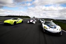 Jamie Caroline / Daniel Vaughan - TF Sport Aston Martin Vantage AMR GT4, Ross Gunn / Jack Mitchell - Beechdean AMR Aston Martin Vantage AMR GT3, Chris Wesemael / Gus Bowers - HHC Motorsport McLaren 570S GT4