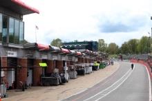 British GT pit lane
