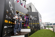 GT3 Silver Am Podium (l-r) Stewart Proctor / Lewis Proctor - Balfe Motorsport McLaren 720S GT3, James Cottingham / Sam De Haan - RAM Racing Mercedes-AMG GT3