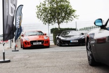 Supercars in the paddock