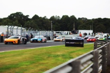 The grid for Race 1