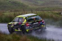 Rhys Yates / James Morgan Skoda Fabia R5