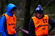 Marshals on the Cambrian Rally
