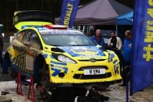 Stephen Petch / Michael Wilkinson Ford Fiesta WRC